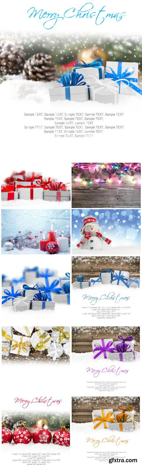 New Year and Christmas stock photos №18