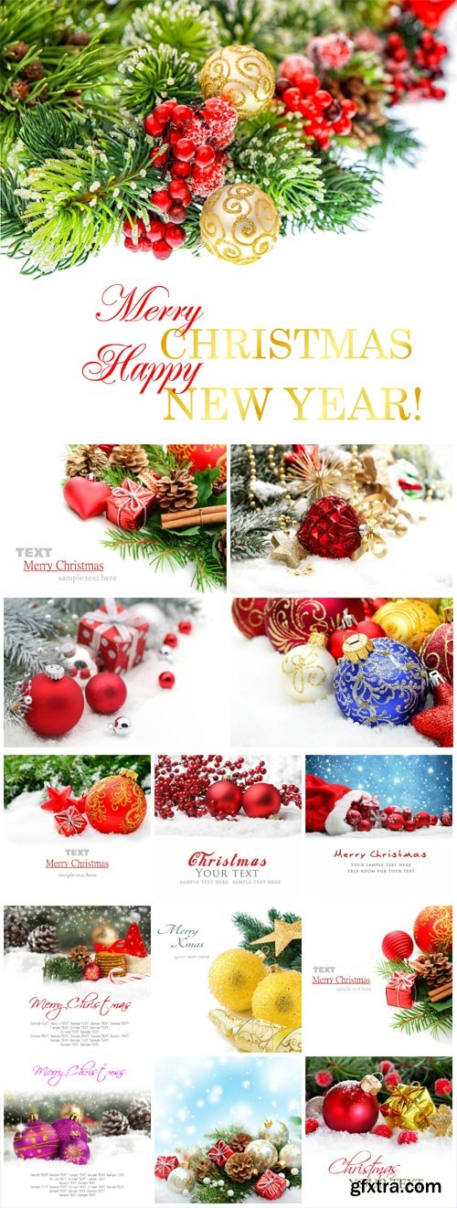 New Year and Christmas stock photos №6