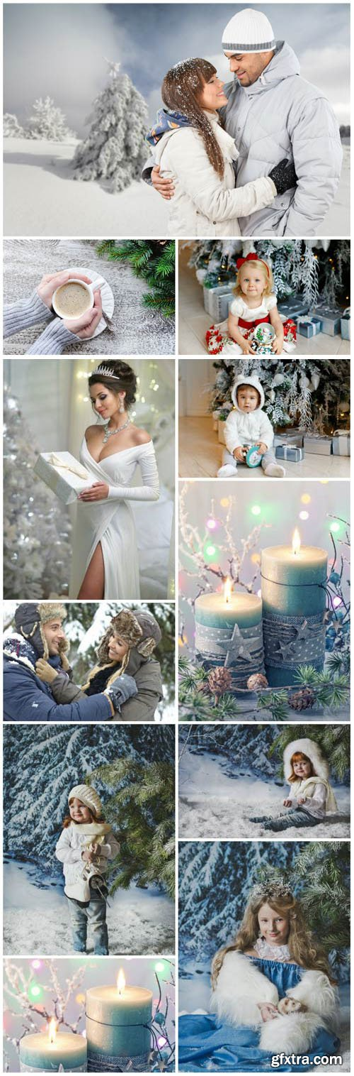 New Year and Christmas stock photos №46