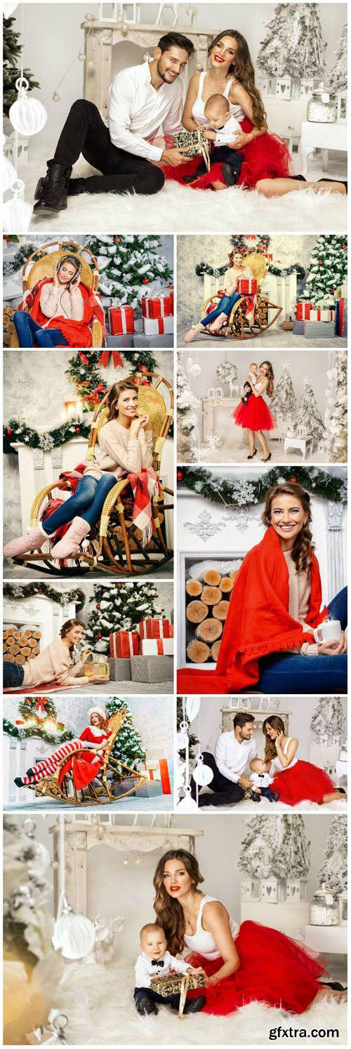 New Year and Christmas stock photos №38