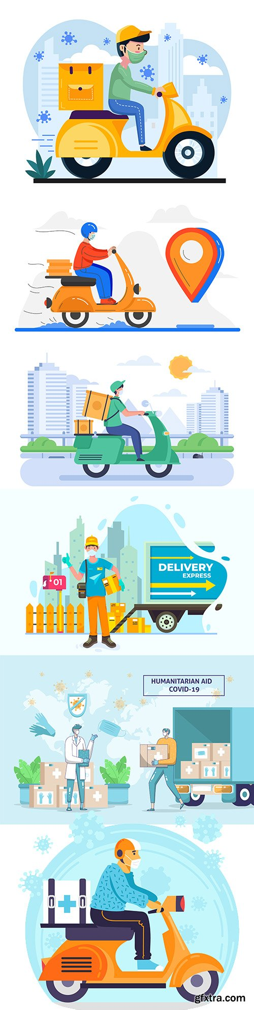 Safe delivery of products and orders during a pandemic