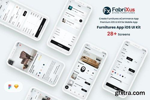 Furniture eCommerce Mobile App UI Kit