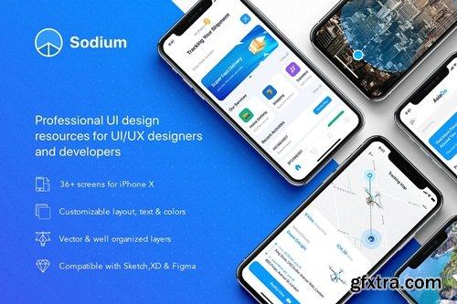 Sodium mobile UI Kit