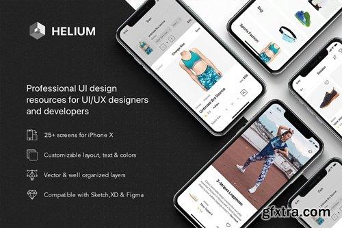 Helium - Fashion Shop UI Kit