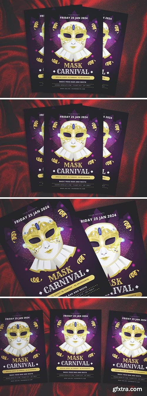 Venice Carnival Flyer