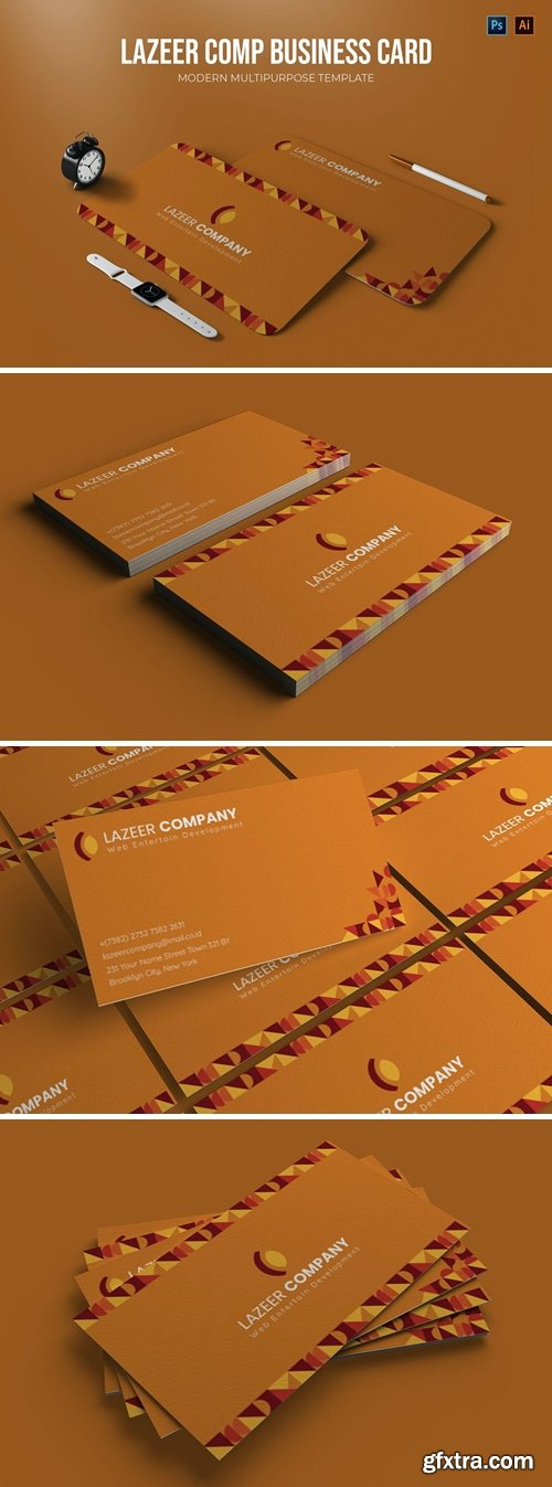 Lazeer Comp - Business Card