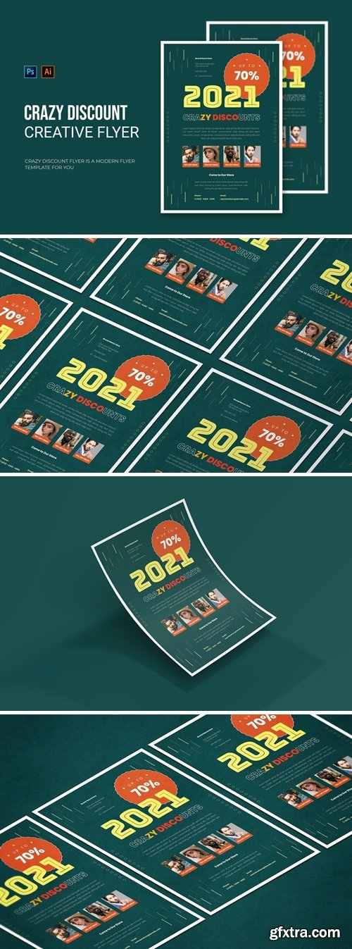 Crazy Discount 2021 - Flyer