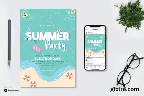 Summer Party - Flyer AS