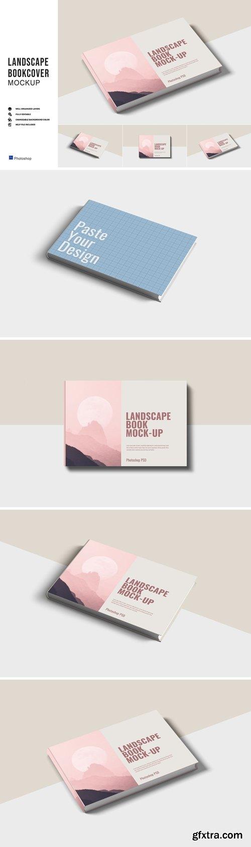 Landscape Bookcover Mockups
