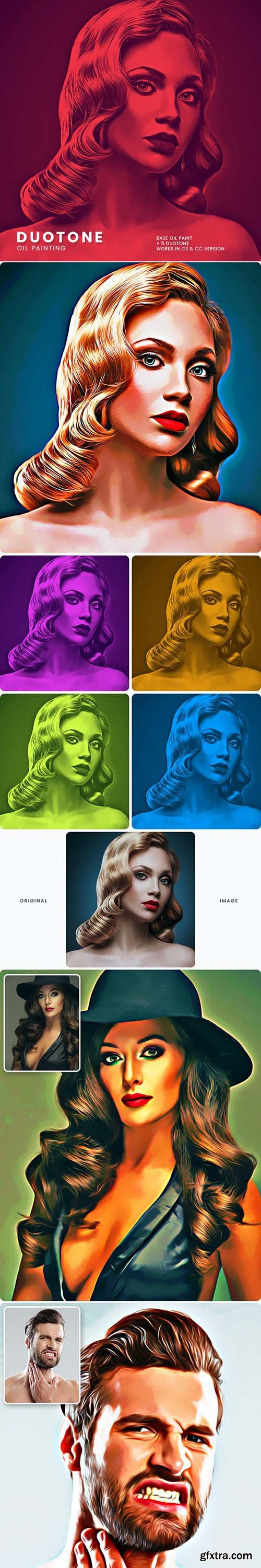 GraphicRiver - Duotone Oil Painting Effect 29367036