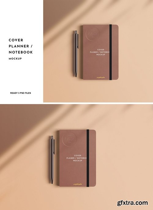 Cover Planner / Notebook Mockup