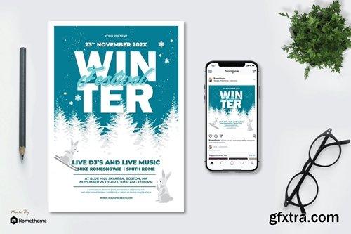 Winter Festival - Flyer AS