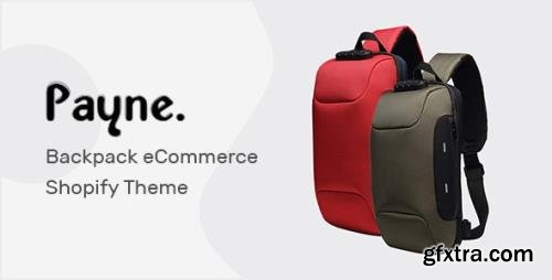 ThemeForest - Payne v1.0.0 - Backpack eCommerce Shopify Theme - 29738813