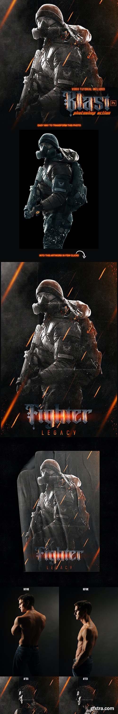 GraphicRiver - Blast Photoshop Action - Poster Creator 29699135
