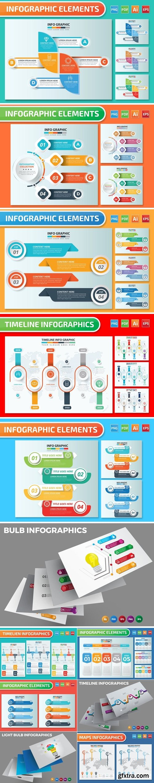 Infographics Design Bundle