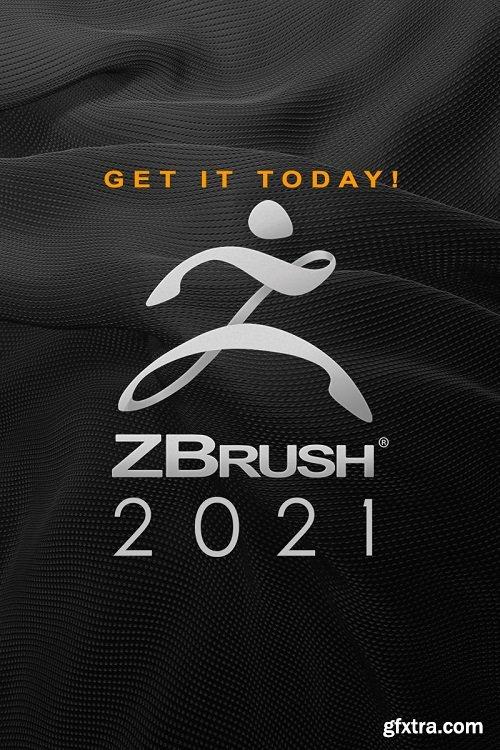 Pixologic ZBrush 2021.5.1 Multilingual Portable