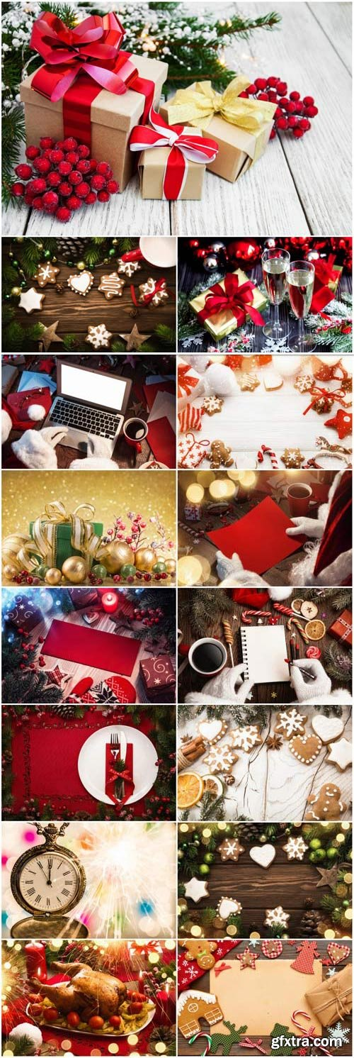 New Year and Christmas stock photos №63