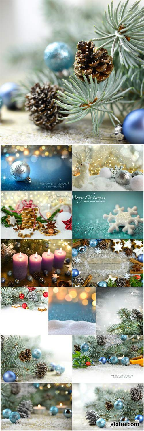 New Year and Christmas stock photos №53