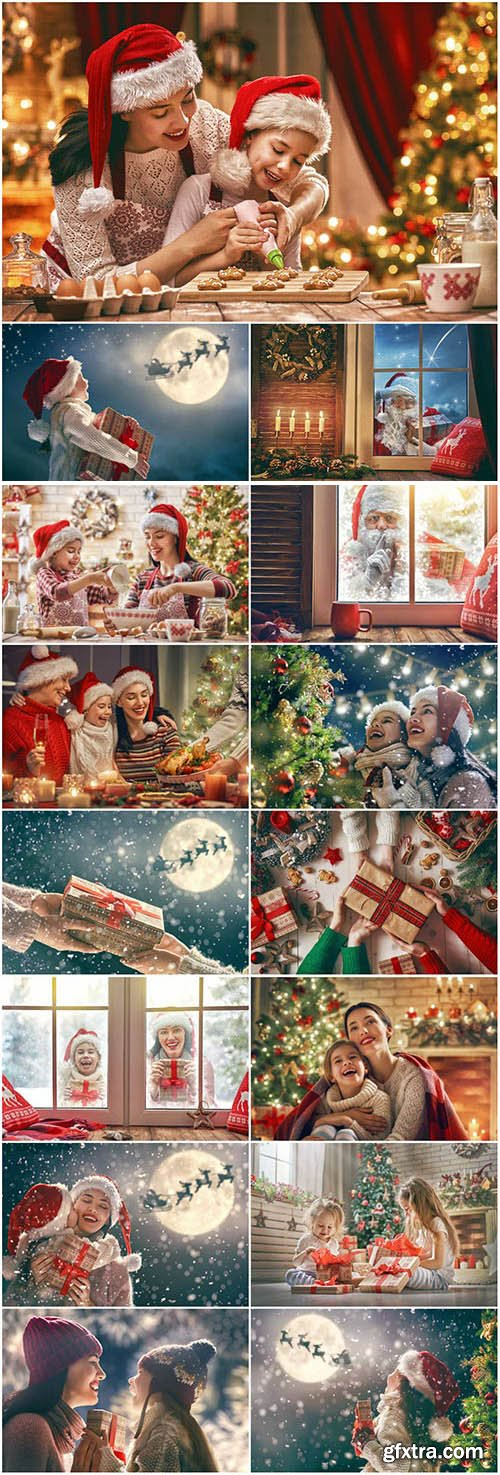 New Year and Christmas stock photos №73