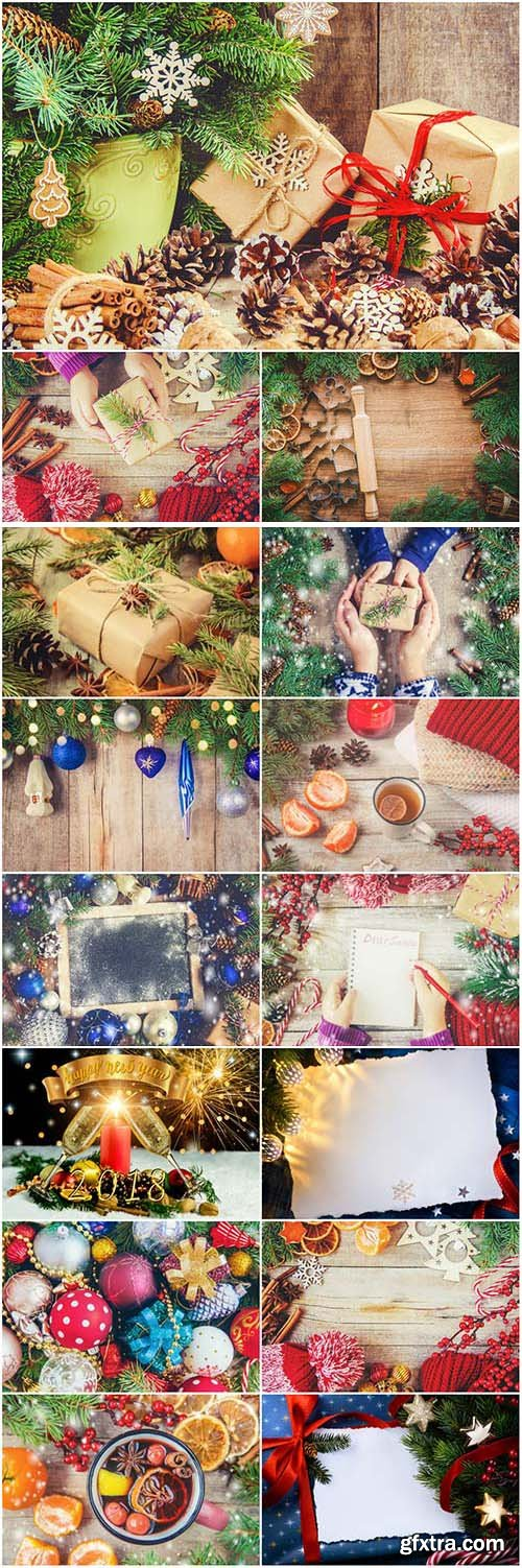 New Year and Christmas stock photos №69