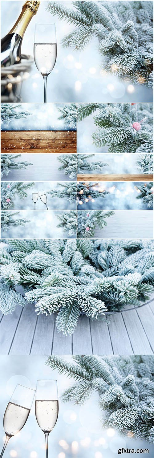 New Year and Christmas stock photos №67