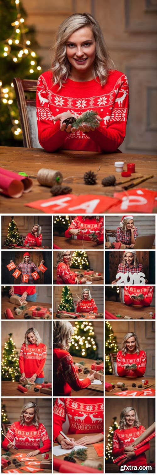 New Year and Christmas stock photos №75