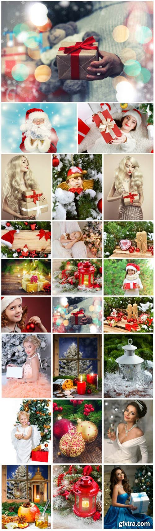 New Year and Christmas stock photos №76