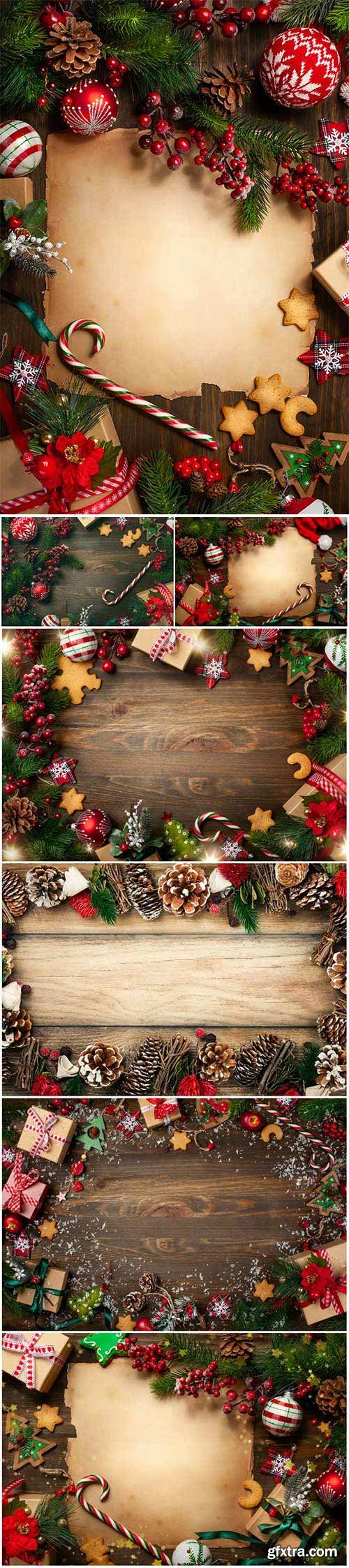 New Year and Christmas stock photos 86