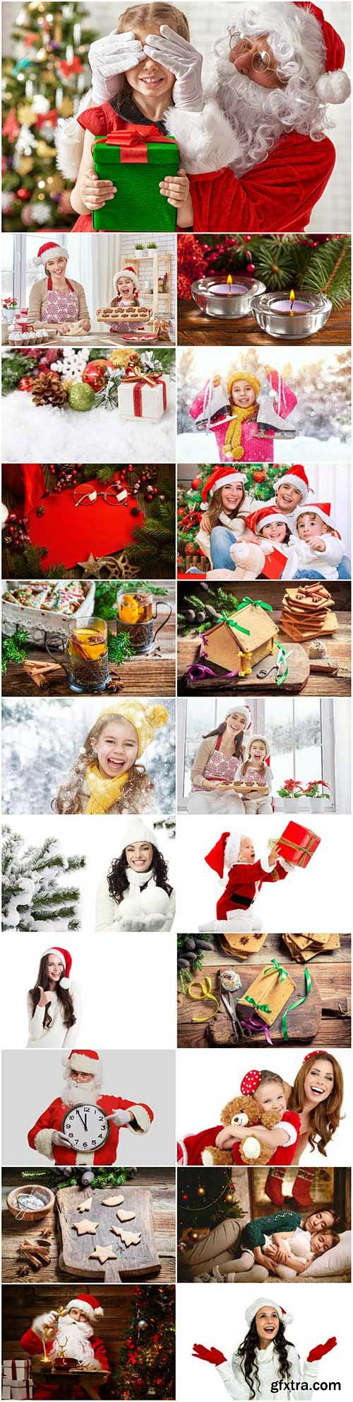 New Year and Christmas stock photos 96