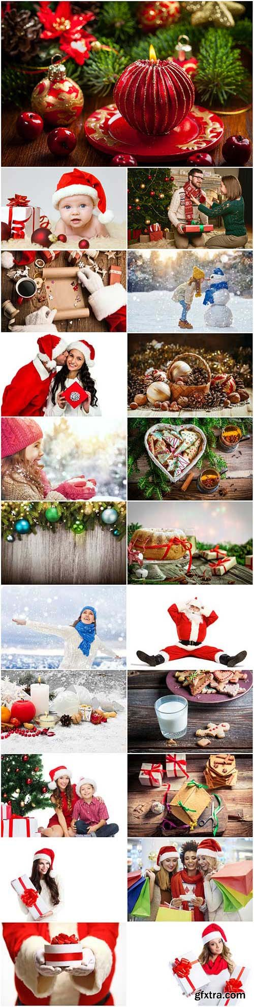 New Year and Christmas stock photos 95