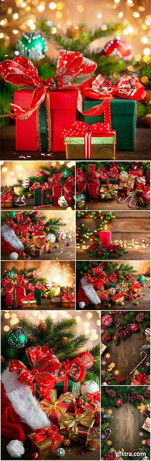 New Year and Christmas stock photos 82