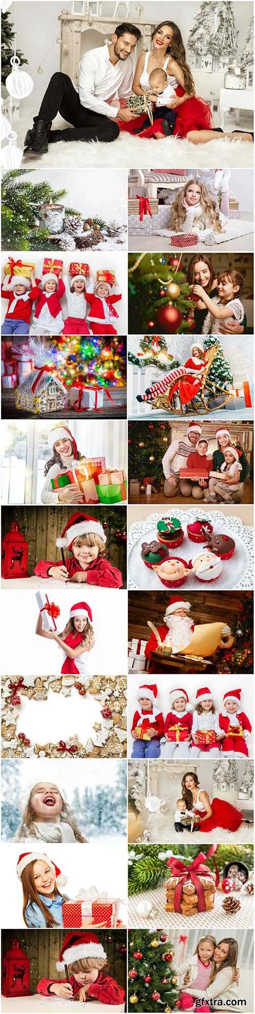 New Year and Christmas stock photos 92