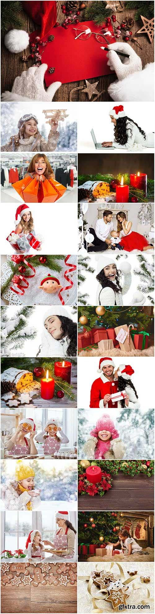 New Year and Christmas stock photos 93