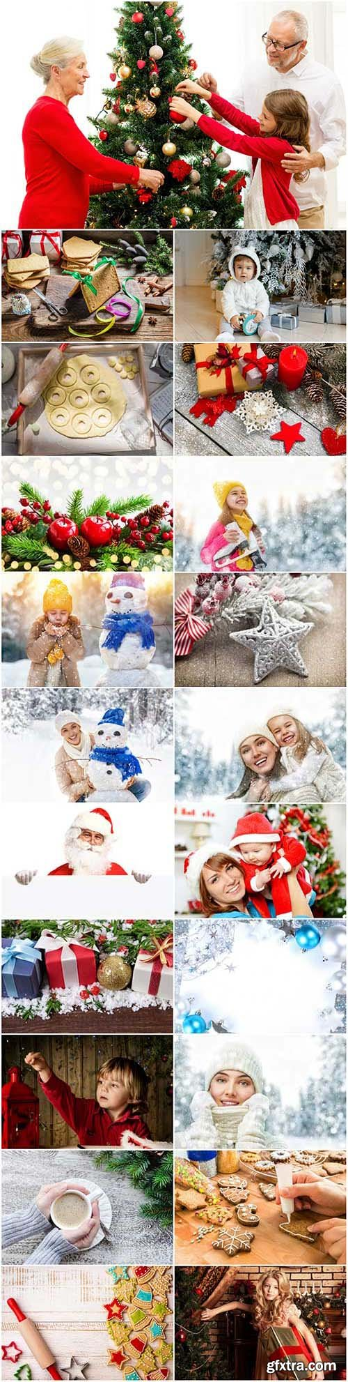 New Year and Christmas stock photos 94