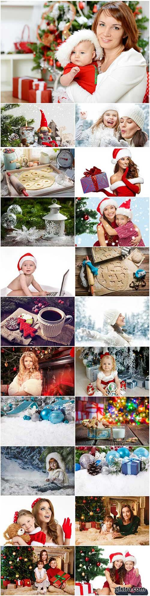 New Year and Christmas stock photos 89