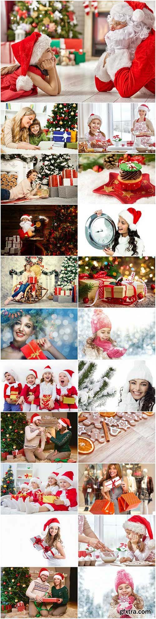 New Year and Christmas stock photos 91