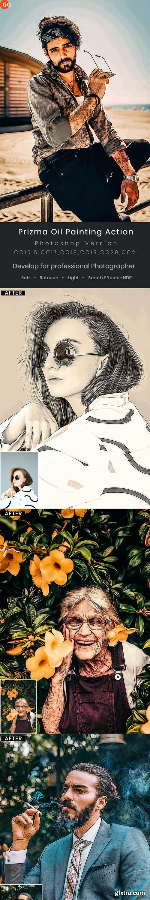 GraphicRiver - Prizma Oil Painting Action 29400819