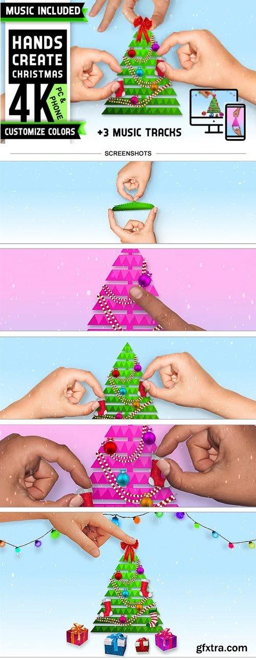 Videohive - Christmas Tree Logo - 29633166