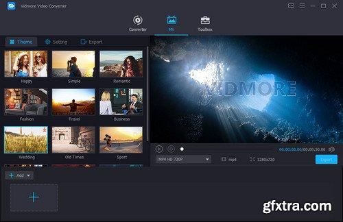 Vidmore Video Converter 1.1.12 Multilingual