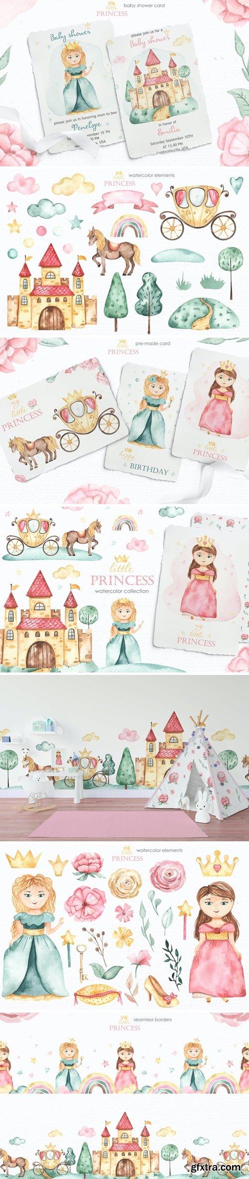 Little princess Watercolor