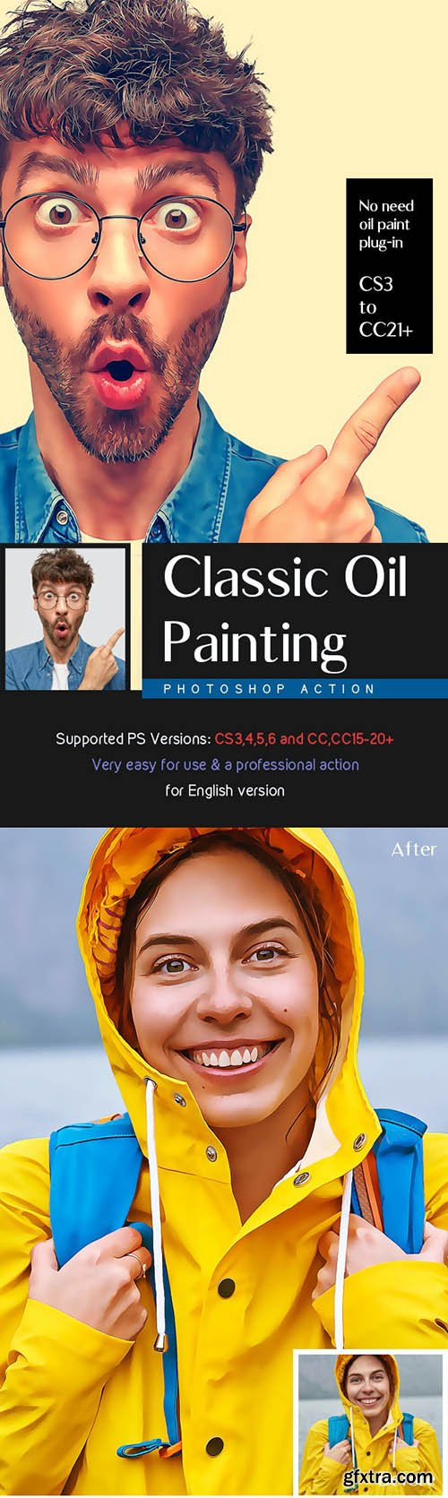 GraphicRiver - Classic Oil Painting Action 29650425