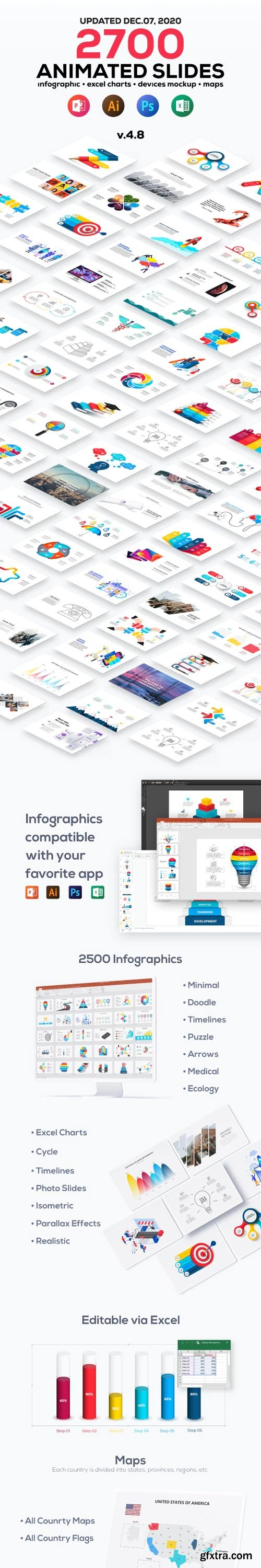 GraphicRiver - Multipurpose Infographics PowerPoint Templates V4.8 - 23176778