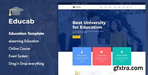 ThemeForest - Educab v1.0.1 - University Education Joomla Template - 29689198