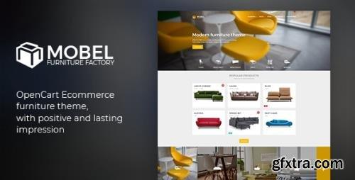 ThemeForest - Mobel v1.6 - Furniture OpenCart Theme - 21432791