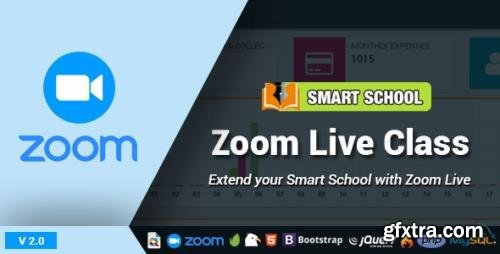 CodeCanyon - Smart School Zoom Live Class v2.0 - 27492043