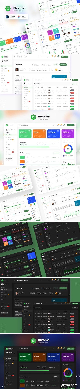 Invome - Invoicing Admin Dashboard Template