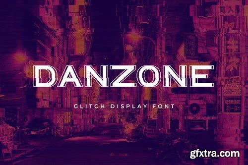 Danzone sans Serif Display Font