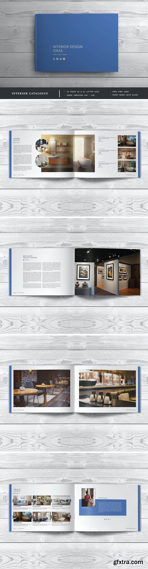 Interior design Brochure / Catalog Template
