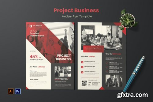 Project Business Flyer