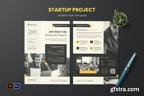 Start Up Project Flyer